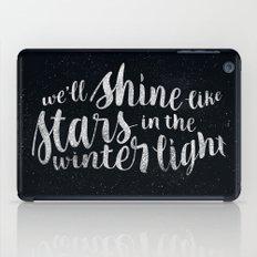 Shine like Stars - Winter iPad Case