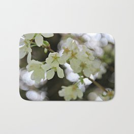 Flowering Plum Tree Bath Mat