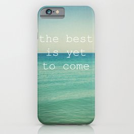 The Best (Waves) iPhone Case