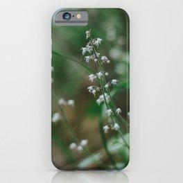 Spring Wildflowers iPhone Case