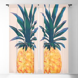 Pineapple Blackout Curtain