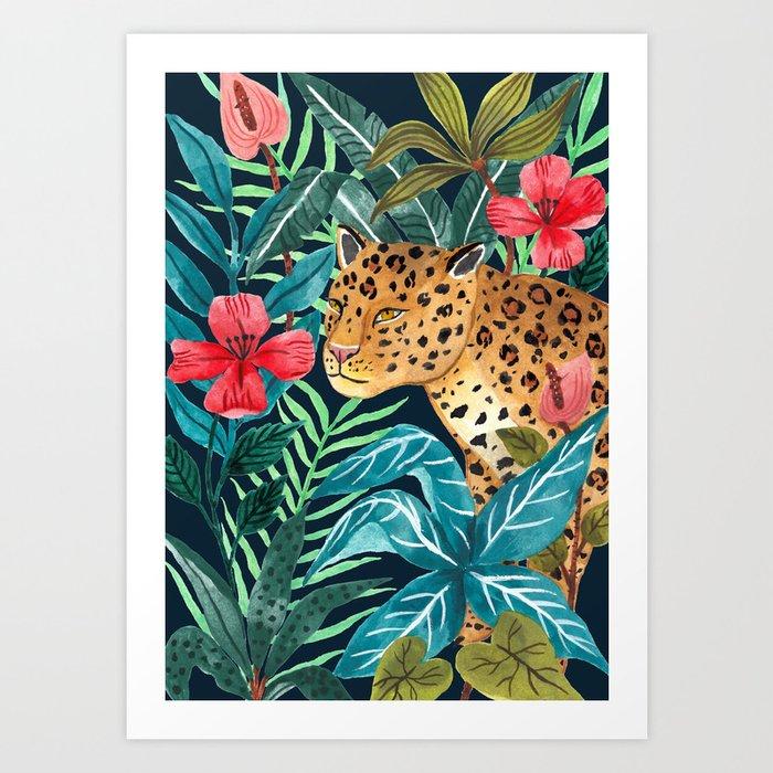 Wild Leopard Kunstdrucke