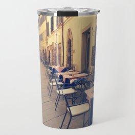 Italy Tuscany Cortona. Travel Mug