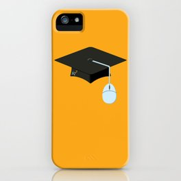 More Clicks, Fewer Bricks: The Lecture Hall Is Obsolete iPhone Case