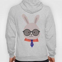 Cute Face Bunny Easter Day Gif Kids Boy Men Hoody