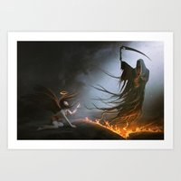 Judgment Day Art Print