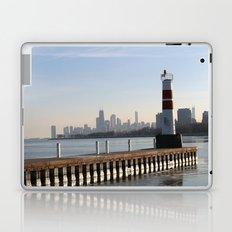 Montrose Harbor in the Winter Laptop & iPad Skin