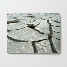 Breaking Ground Metal Print