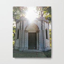 Genaro Mausoleum (Grove Hill Cemetery, Dallas TX) Metal Print