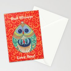 Owl Be There For You Stationery Cards
