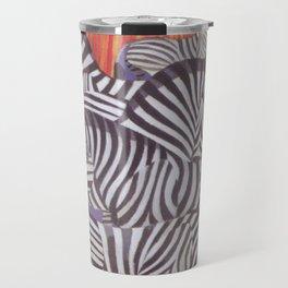 Africa Zebras Vintage Travel Poster Travel Mug