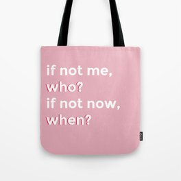 who and when Tote Bag