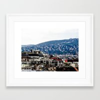 budapest Framed Art Prints featuring Budapest by Petra Horvath