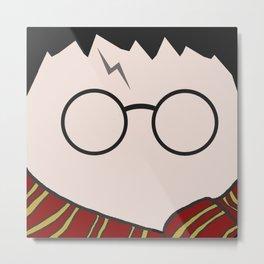 Harry Potter Minimalist Metal Print
