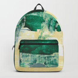 that view Landscape Forest Abstract Painting Backpack