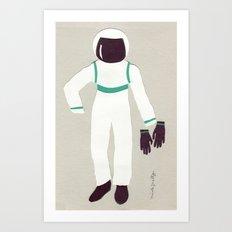 Astronaut Outfit Art Print