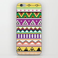 Colouful Aztec iPhone & iPod Skin