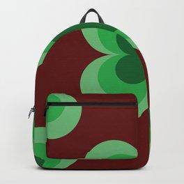 Vintage Tile Pattern Backpack