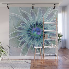 Floral Beauty, Fantasy Flower Wall Mural