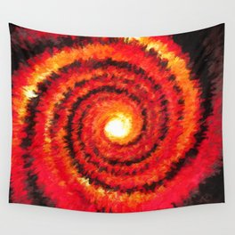 Fire Portal Wall Tapestry
