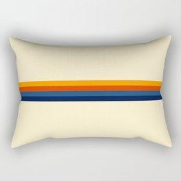 Retro Stripes Summer of Love Rectangular Pillow