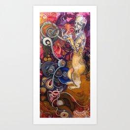 """Pondering the Devouring"" Art Print"