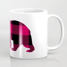 Buffalo Plaid Bear Mug