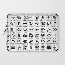 Hobo Code Laptop Sleeve