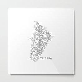 Tribeca, NY Metal Print
