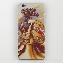 Watch Your Back iPhone Skin
