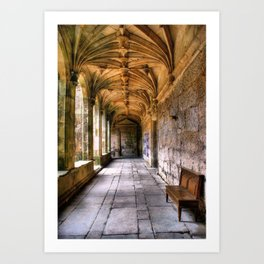 S. Goncalo cloister Art Print