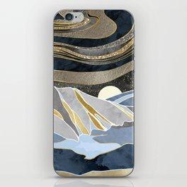 Metallic Sky iPhone Skin