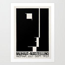 Bauhaus Art Exhibition Art Print
