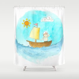 ¡Aventuras! - Adventures! Shower Curtain