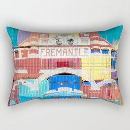 Fremantle Markets Rectangular Pillow