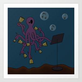 Octobells Art Print