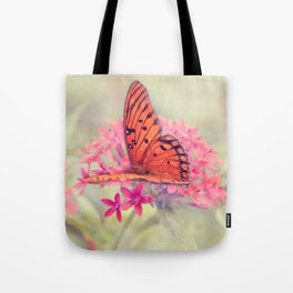Quiet Butterfly Tote Bag