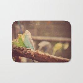 Budgerigar Parakeets Bath Mat