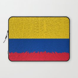 Extruded flag of Columbia Laptop Sleeve