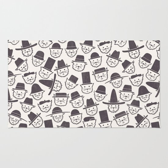 Cats With Hats Rug