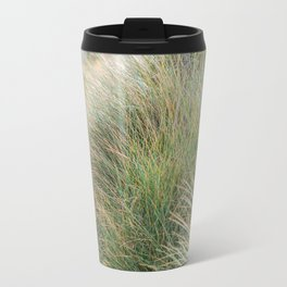 Beach Grass, New Zealand  Travel Mug