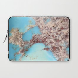 Rugged Turquoise Nugget Laptop Sleeve