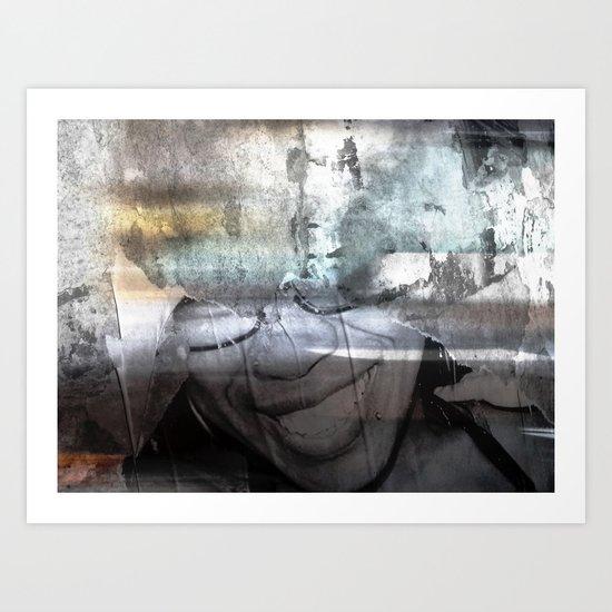 Urban Abstract 118 Art Print