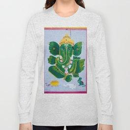 Pan Leaf Ganesh Long Sleeve T-shirt