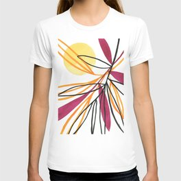 Sun and leaves T-shirt