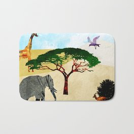 Safari Bath Mat
