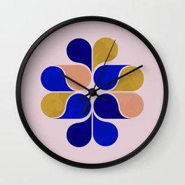 Tear drop shapes creation Wall Clock