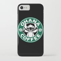 ohana iPhone & iPod Cases featuring Ohana Coffee by Ellador