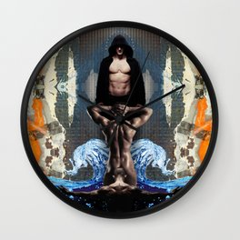 The Fountain of Submission Wall Clock
