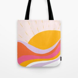 laurel canyon sunrise Tote Bag